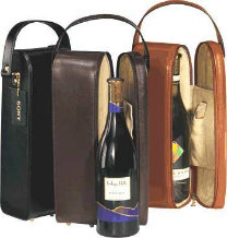 Leather Wine Case Carrier